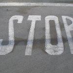 מעצור חניה לרכב